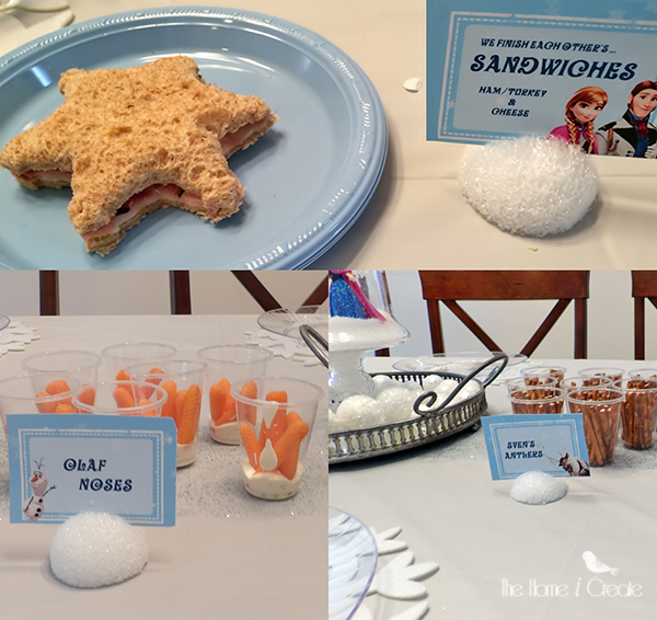 Disney Frozen Party on a budget, great inspiration for throwing your own DIY Disney Frozen Party. thehomeicreate.com