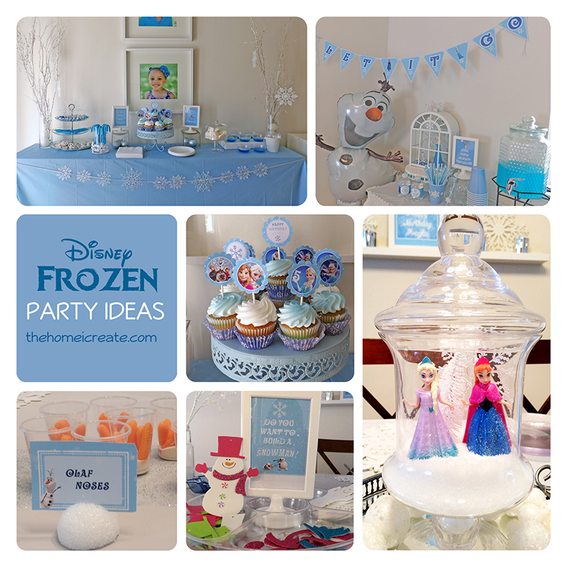 Disney Frozen Party on a budget. Great inspiration for throwing your own DIY Disney Frozen Party.