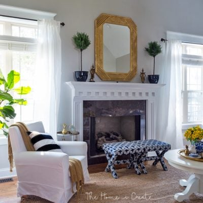 The Best Renter Hacks for Your Living Room