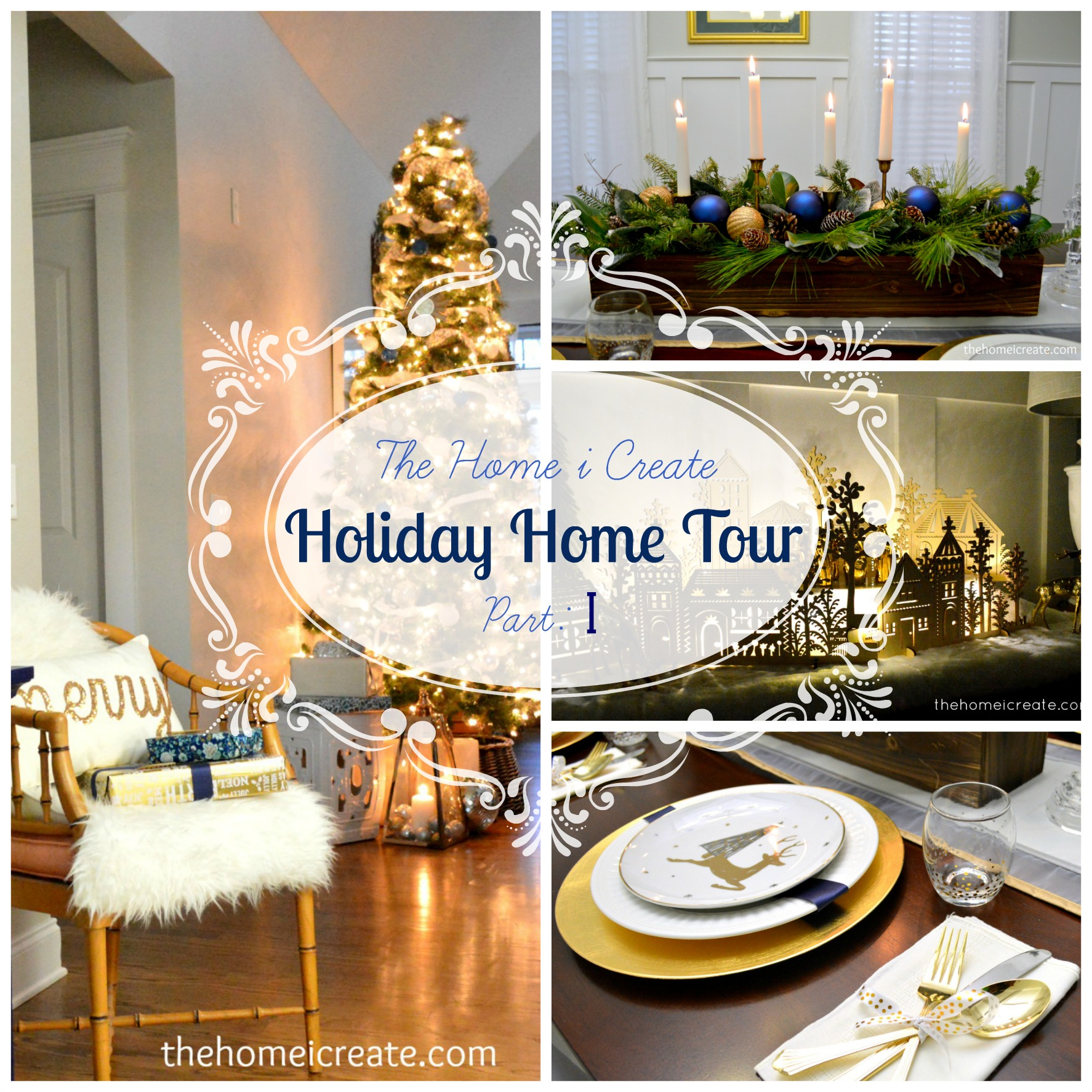 Christmas House Tour Part 1