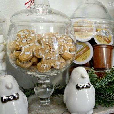 Simple Holiday Hot Chocolate Bar