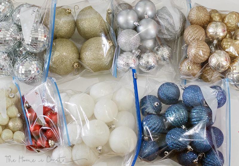 4 Tips for Organizing Christmas Decor! + Free Printable