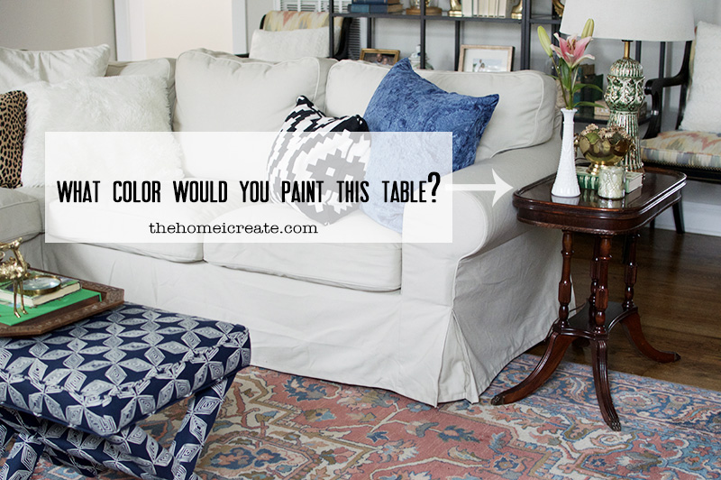 What color would you paint this table?