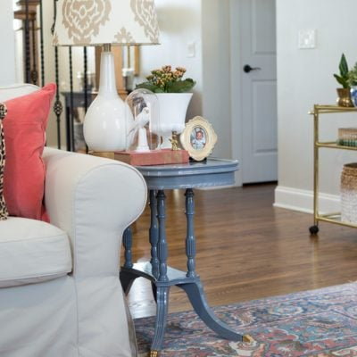 From dated to darling! A simple DIY table makeover