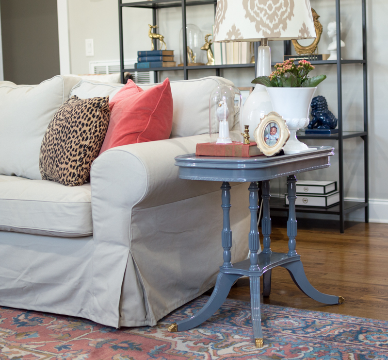 Painted End Table160211-20