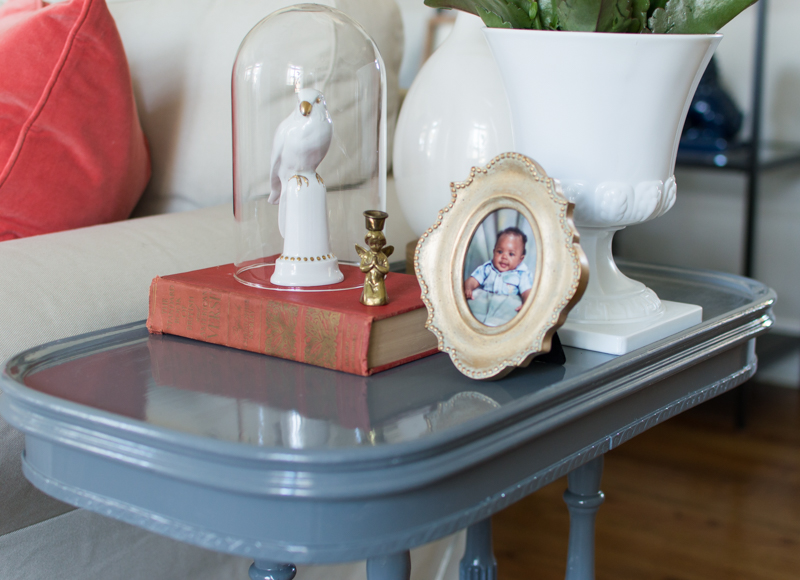 Painted End Table160211