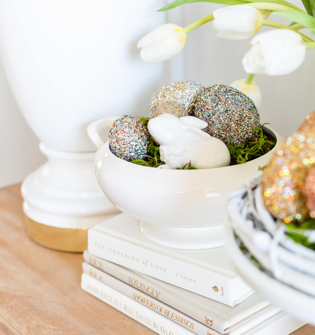 easter crafts | easy easter crafts | easter decorations | easter DIY | thehomeicreate.com