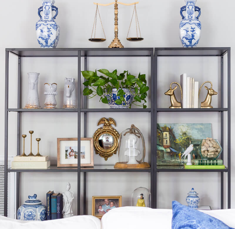 Decorating with Blue and White Porcelain - The Home I Create