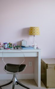 Angelic by Sherwin Williams | Pink Girls Room