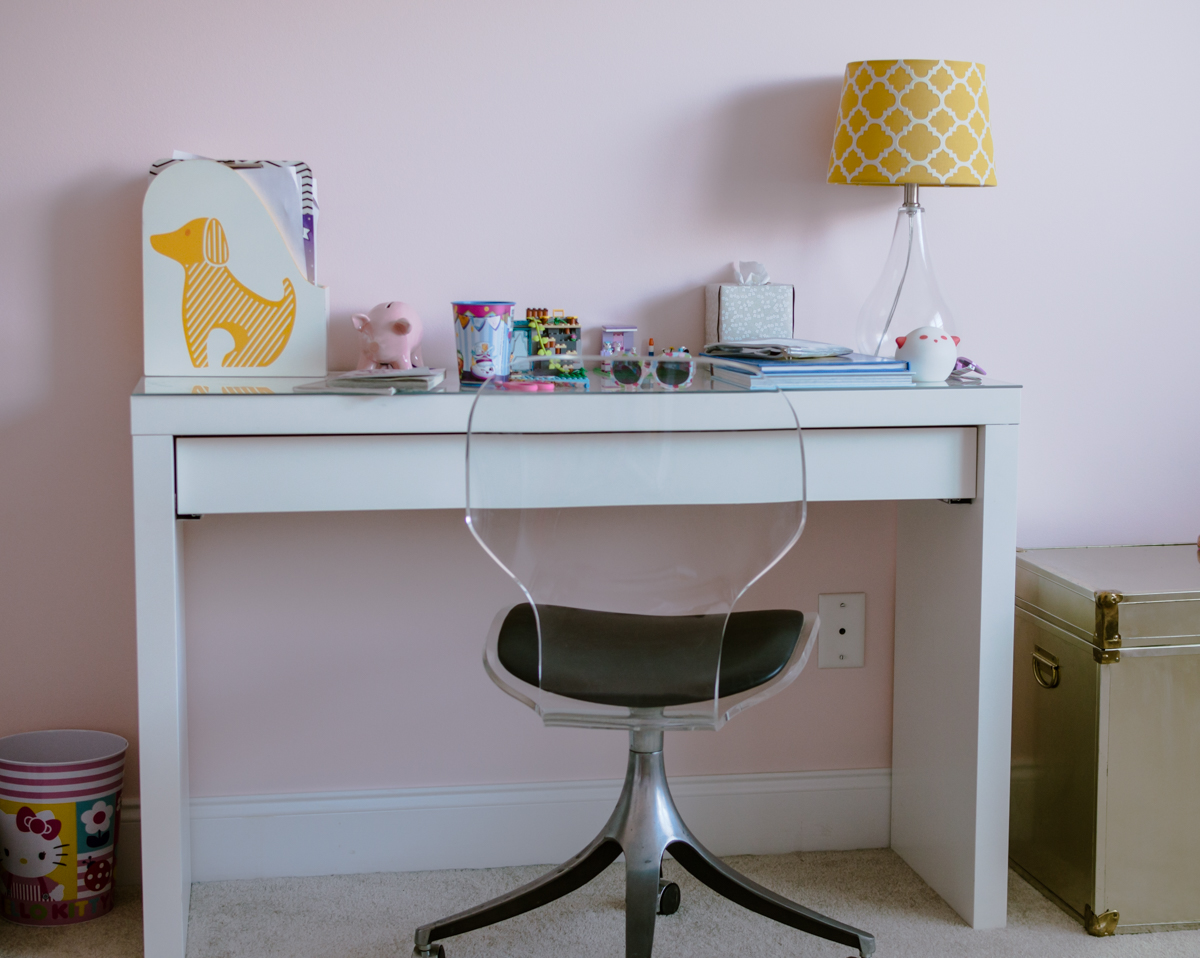Pretty in Pink Girls Room Makeover {Week 2}