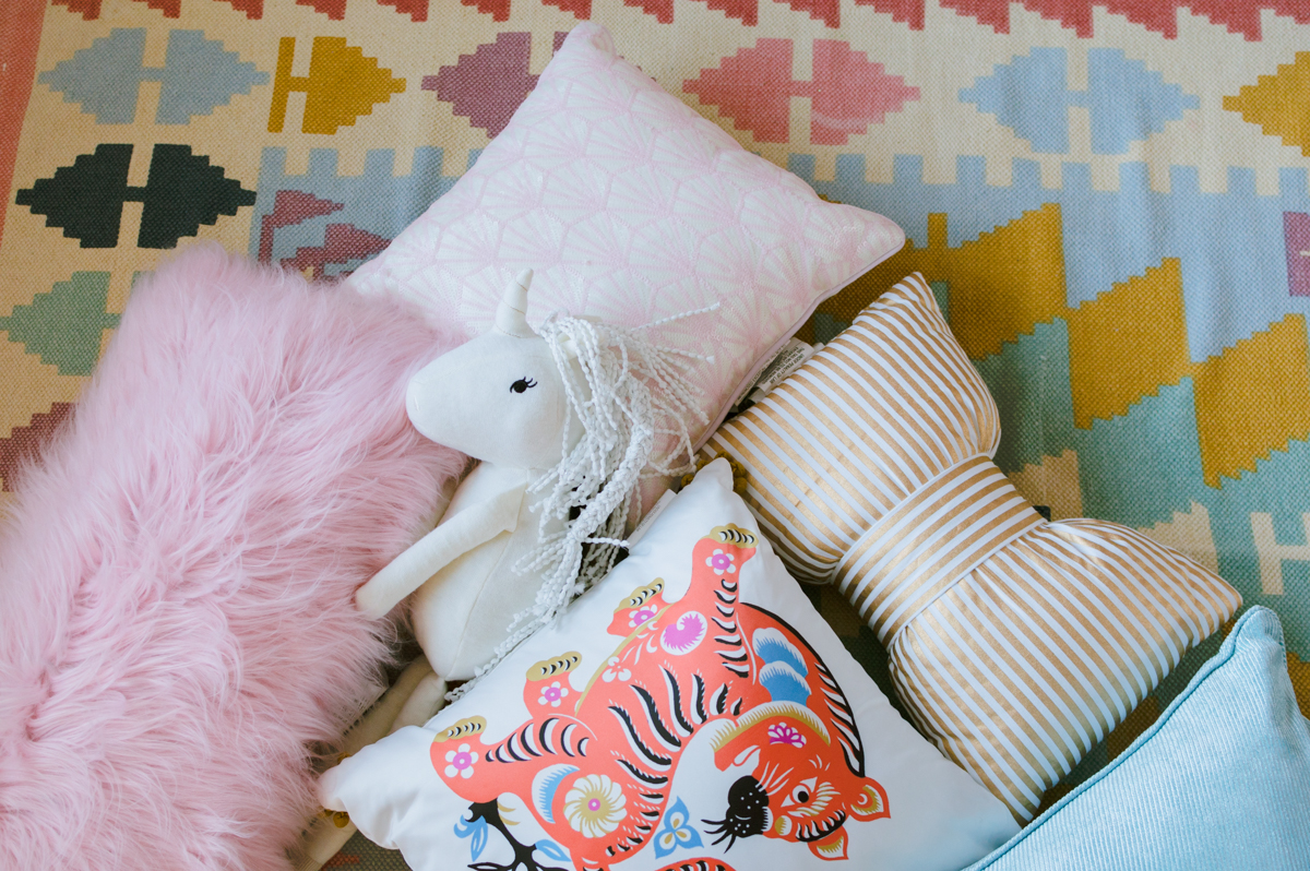 Teenage Rooms: Pretty In Pink Girls Room Makeover {Week 4}