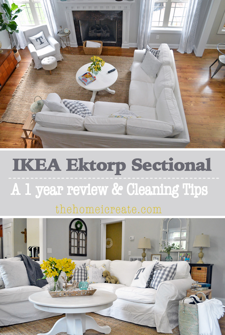 Ikea ektorp sectional 1 year review cleaning tips for What time does ikea close