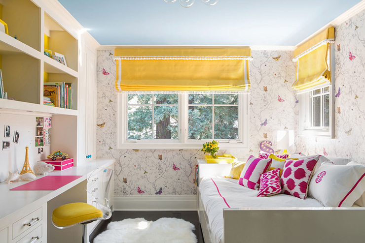 Lonny Mag big girl bedroom