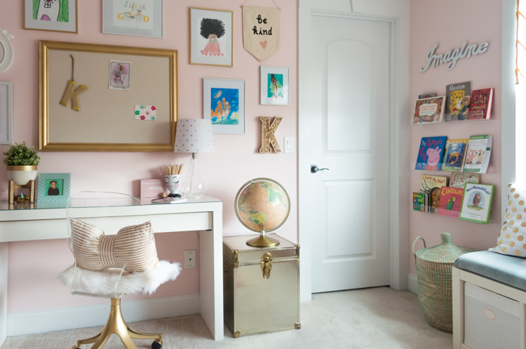 Pretty In Pink Girls Room Makeover Source List The Home