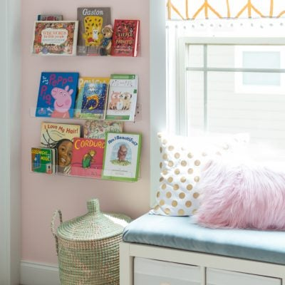 Pretty In Pink Girls Room Reveal