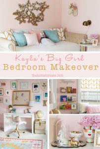 Big Girl Bedroom Makeover