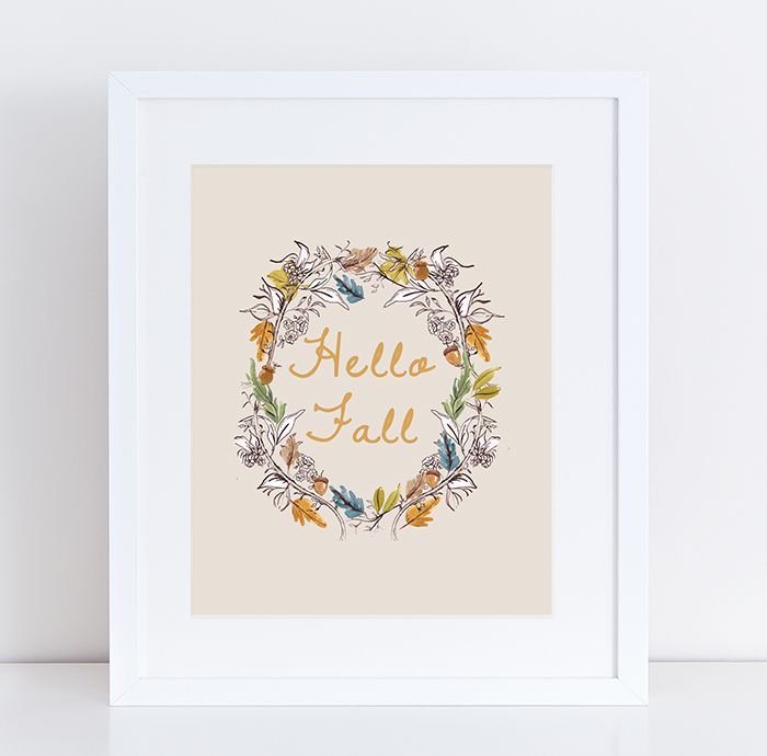 Free printables for fall