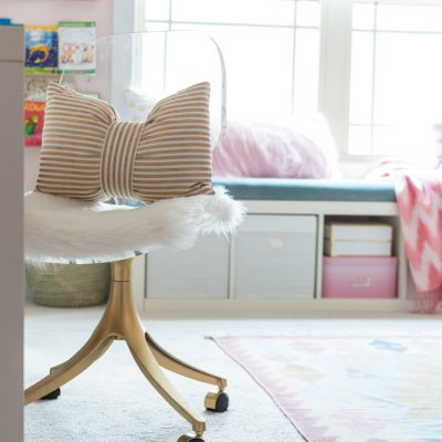 Glam DIY Office Chair Makeover