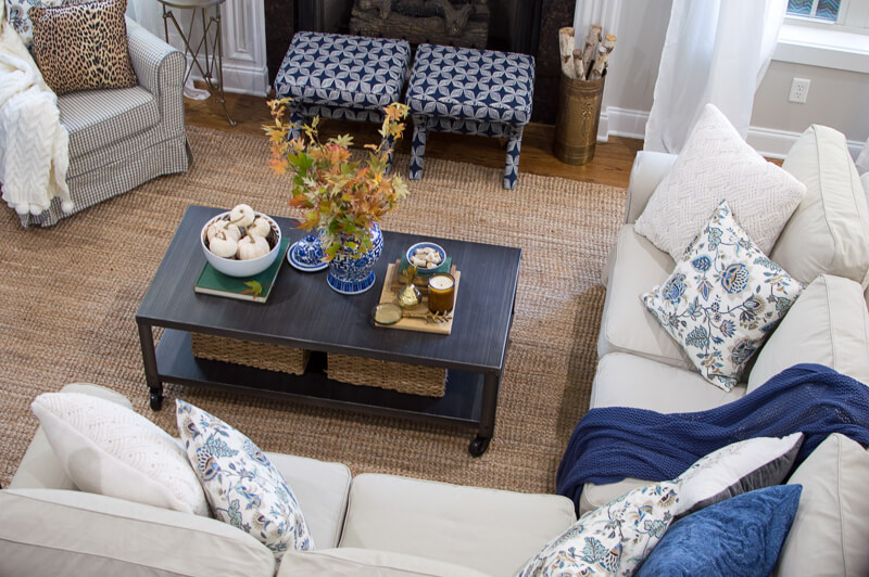 Cozy and Eclectic Fall home
