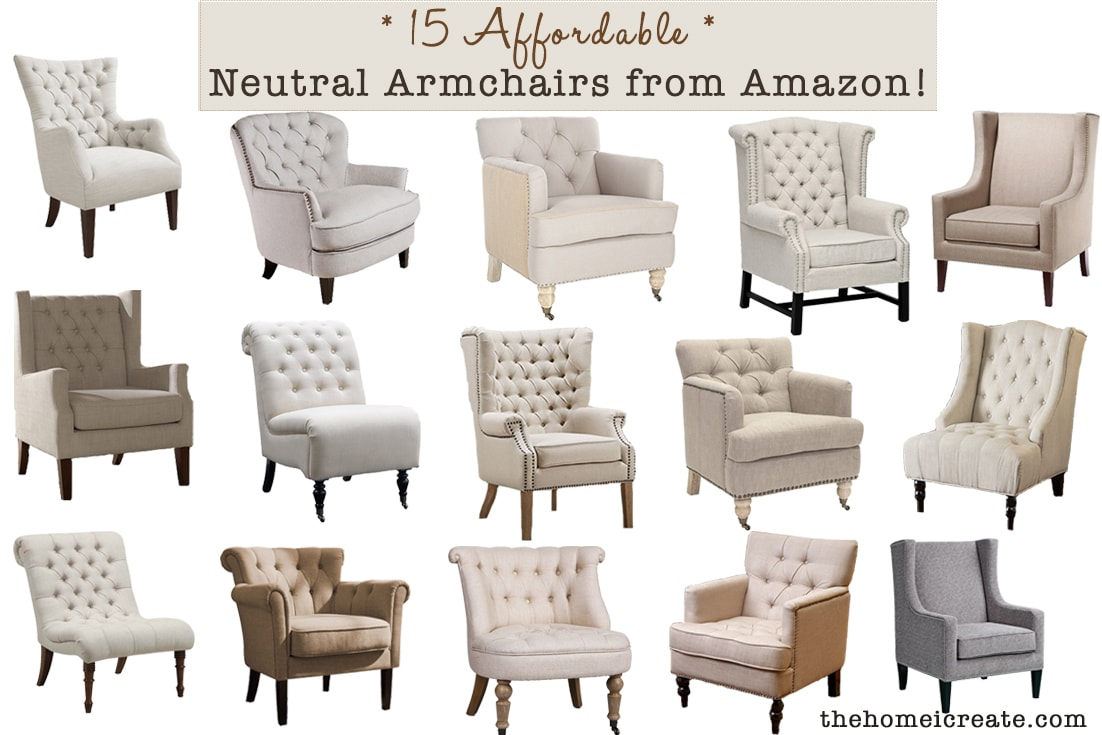 15 Affordable Armchairs from Amazon - The Home I Create