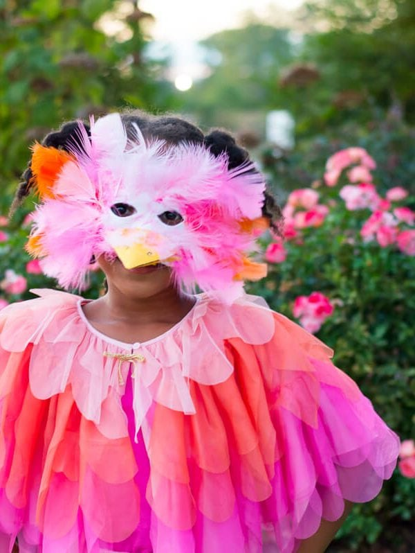 DIY Bird Halloween Costume {video tutorial}