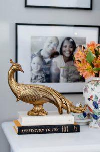 orc-master-bedroom vintage brass birds
