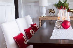 Dining Rom Christmas Home Decor