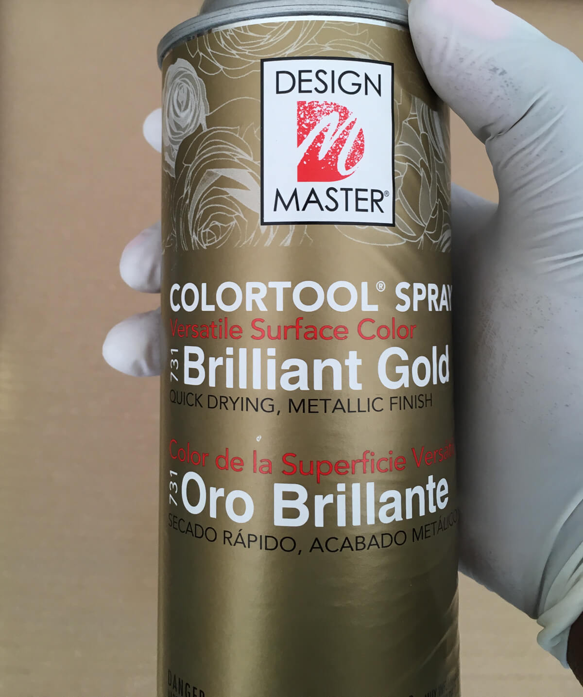 My favorite gold spray paint!