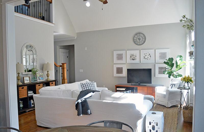 Sherwin Williams Repose Gray Living Room The Home I Create