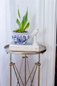 Spring Living Room Refresh || blue and white planter || The Home I Create