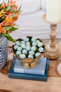 Spring Living Room Refresh || blue quail eggs || The Home I Create