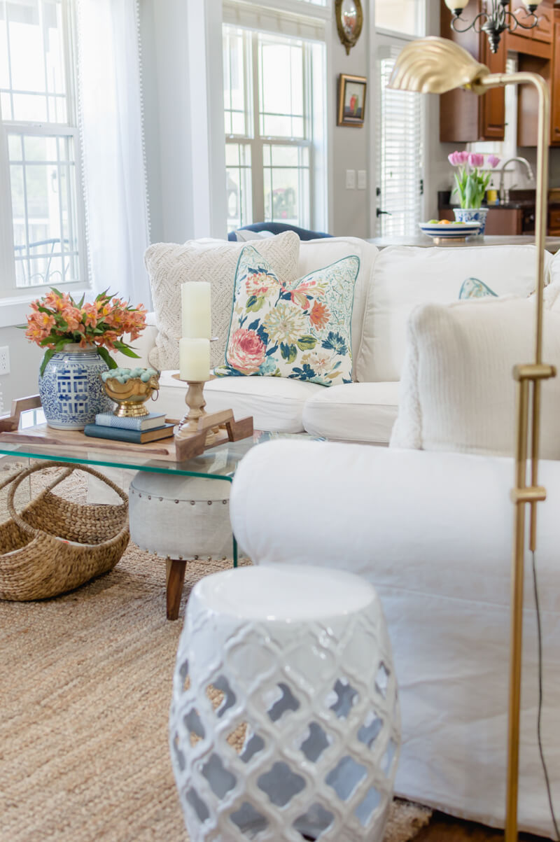 Spring Living Room Refresh | The Home I Create