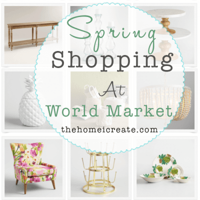 Budget Spring Decor At World Market