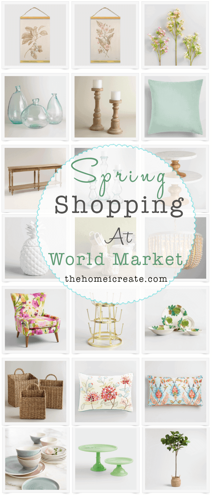 Budget Spring Decor At World Market The Home I Create