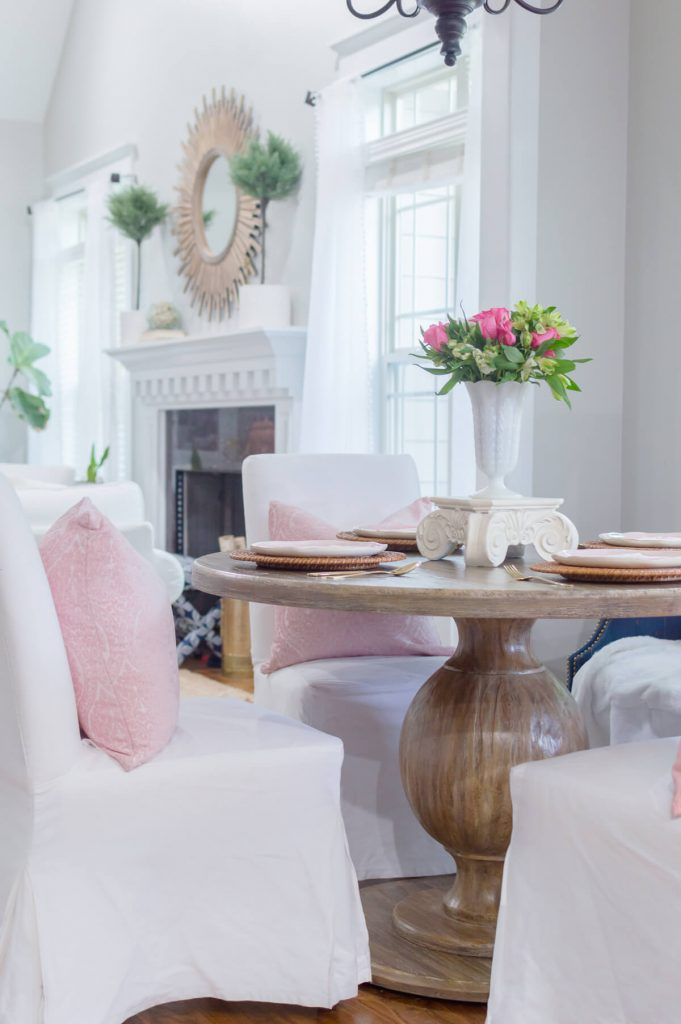Simple Mother's Day Brunch    Farmhouse Dining Table    The Home I Create