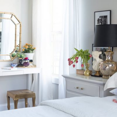 Spring Bedroom Tour {Video}