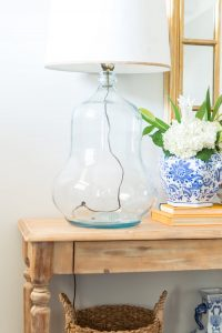 Spring Entryway Refresh || thrift store lamp || The Home I Create