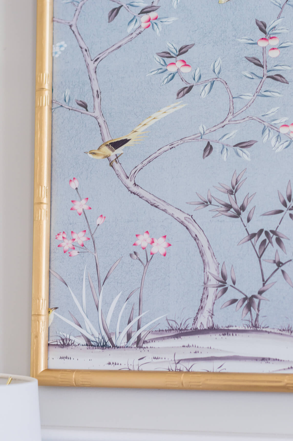 DIY chinoiserie panels