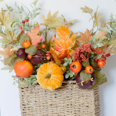 10 Minute Fall Door Decor