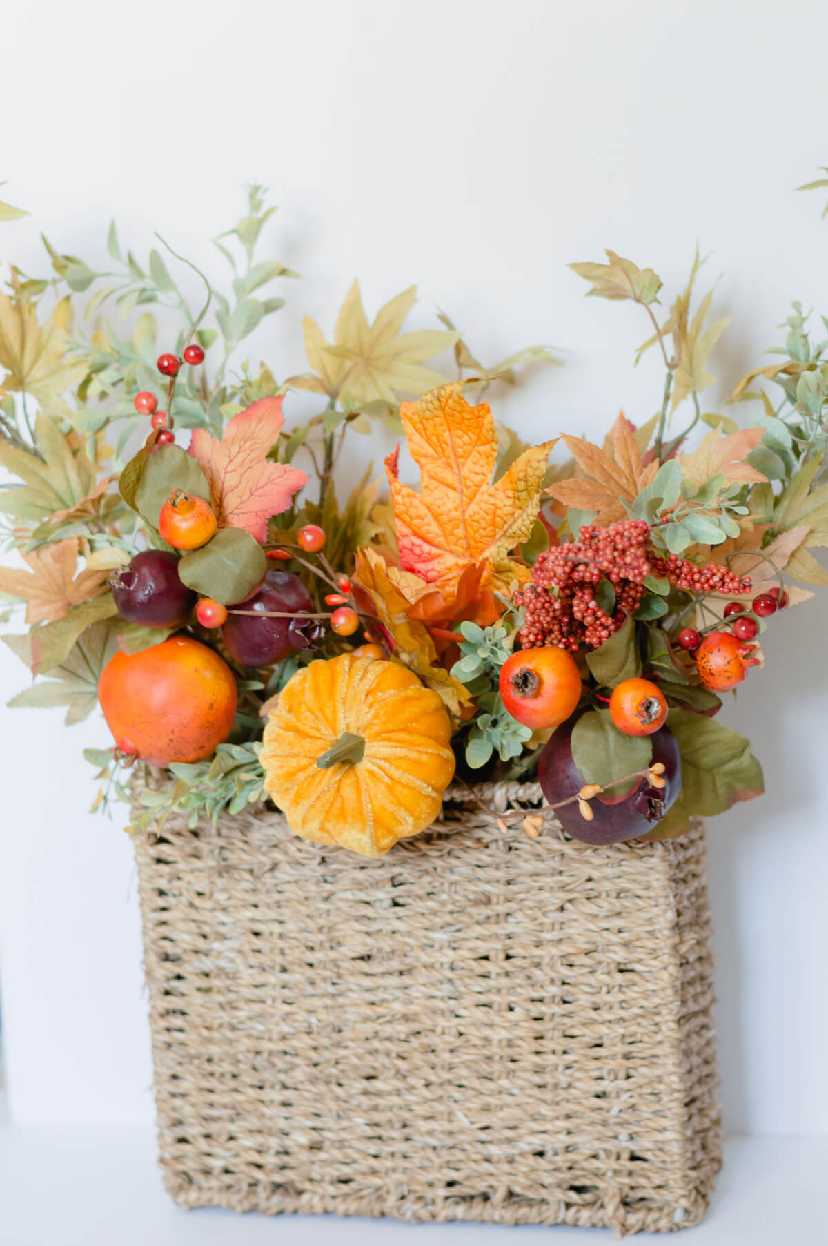DIY fall Door Decor | the home i create