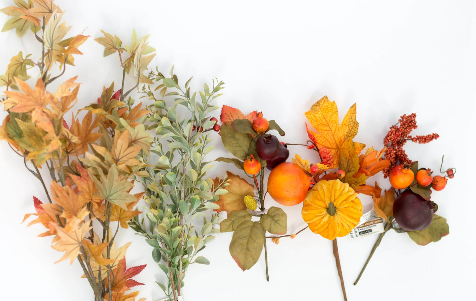 Faux fall flowers | the home i create