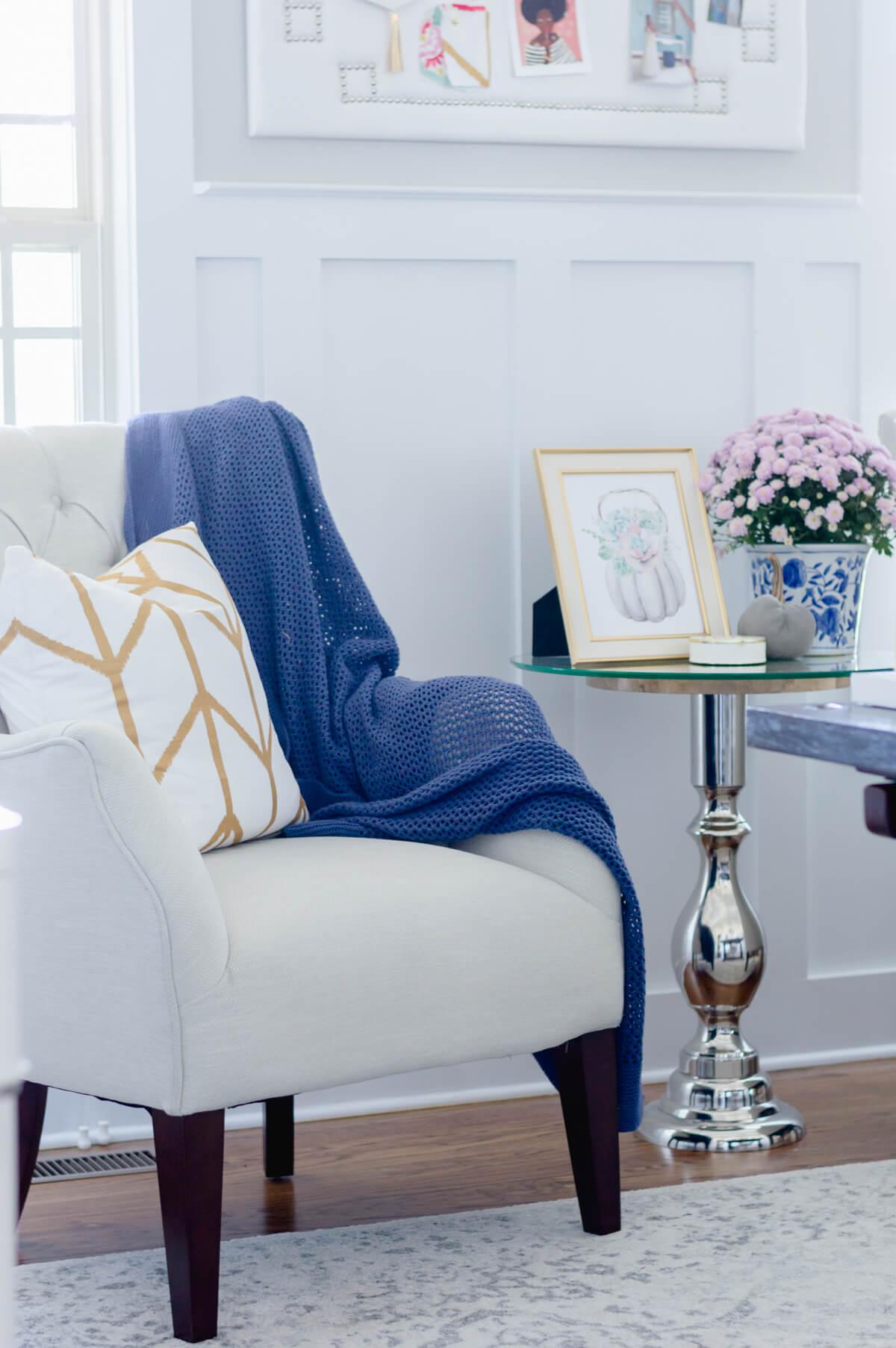 Tufted armchair | the home i create