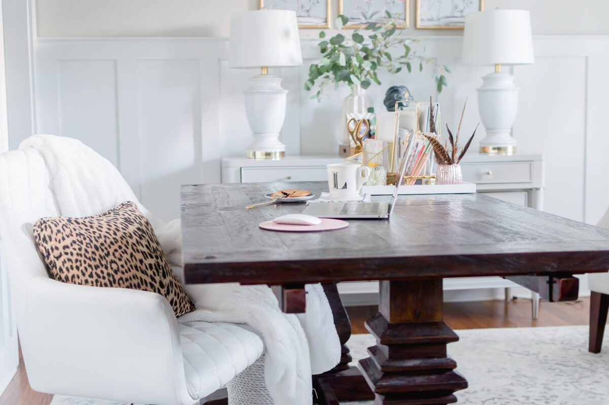 neutral home office | the home i create