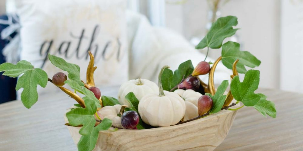 Fall Pumpkin Centerpiece | the home i create