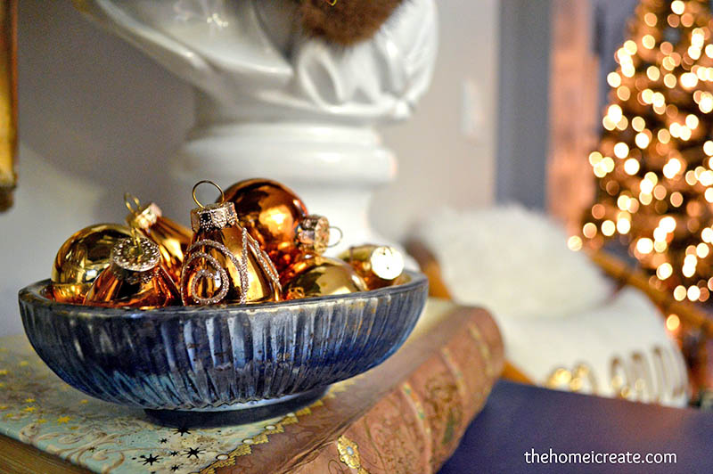 Gold Christmas Ornaments