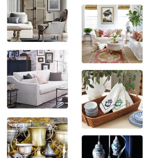 Weekly favorites including Ikea's new beautiful couch Vintage trophies layer rug and more!