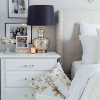Our Cozy Christmas Bedroom {video}