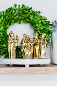 Gold Nativity