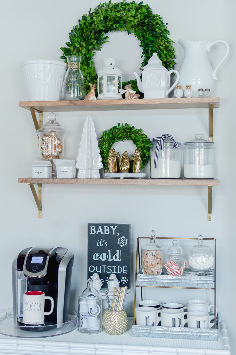 Hot Cocoa Station Styling