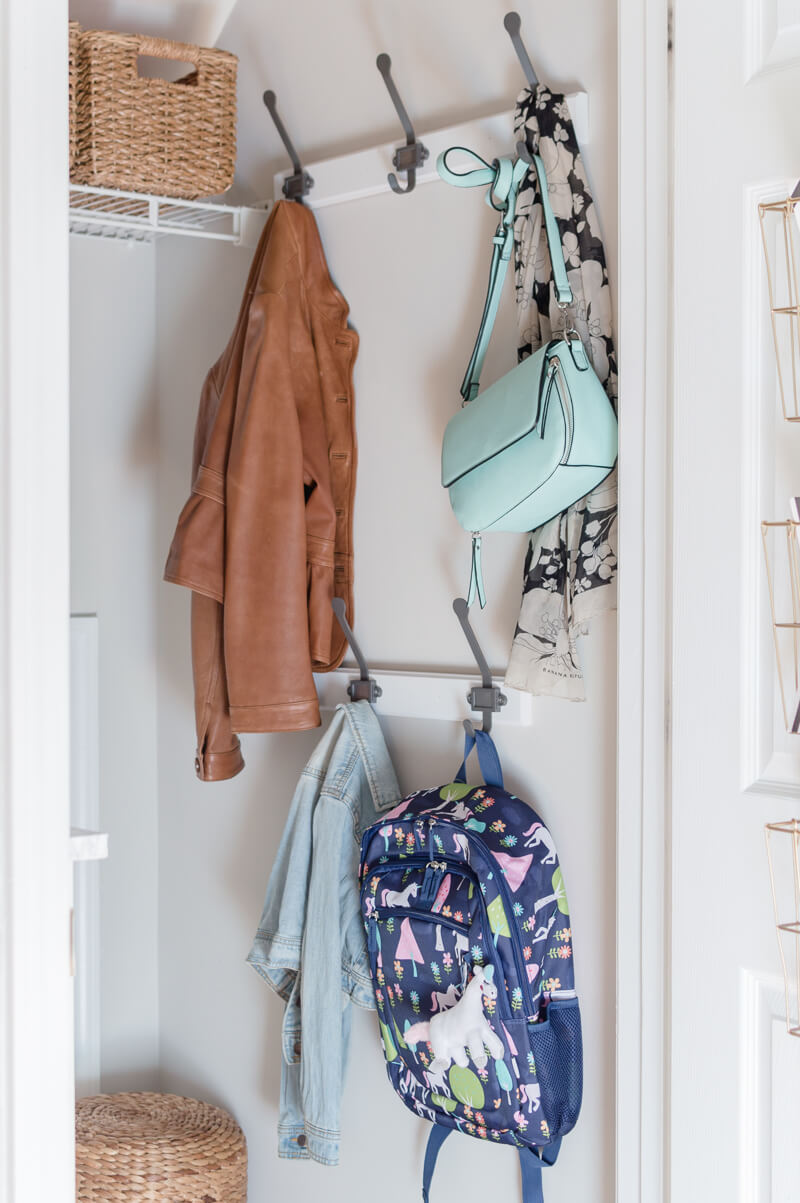 Mudroom Closet Coat Hooks